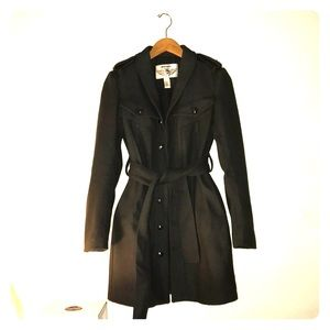 Diesel military style long coat size xs